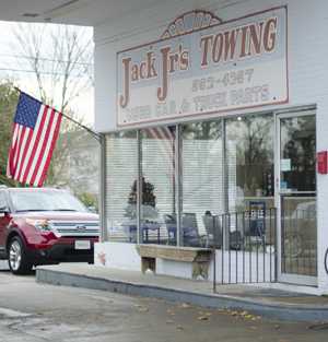 Jack, Jr.'s Towing and Auto in Downtown Franklin, VA